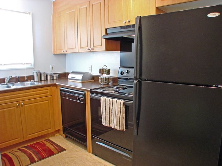 Apartments in New Bern, NC kitchen