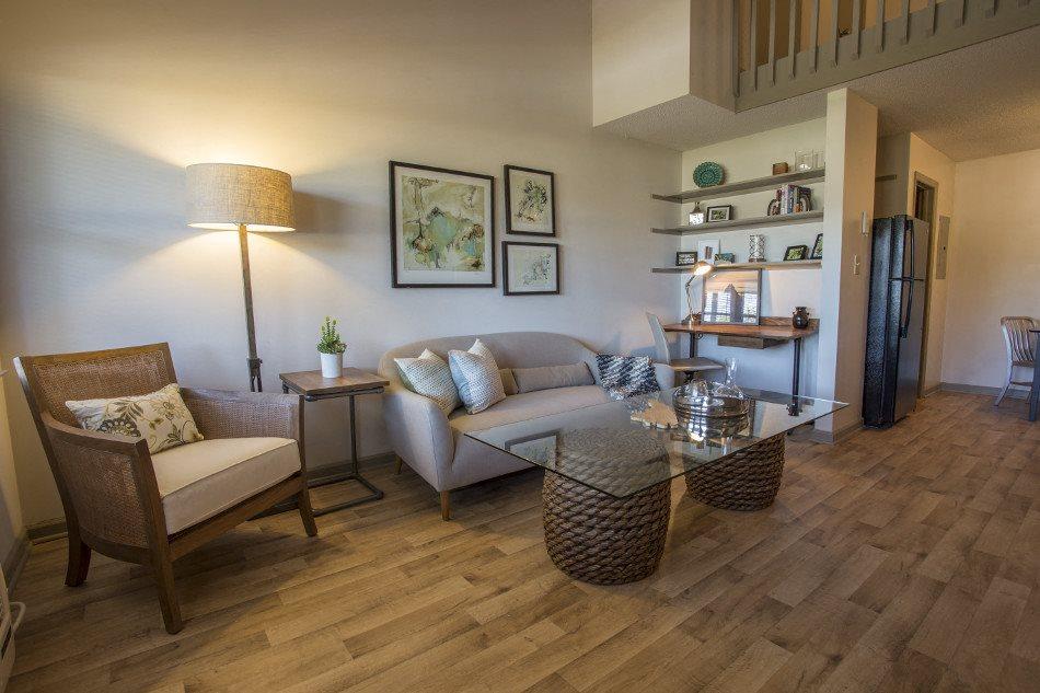 Living Room at Hawthorne Lofts South, North Carolina, 28403