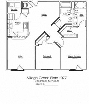 Village Green Flats 1077