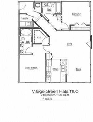 Village Green Flats 1100