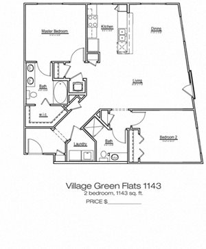 Village Green Flats 1143