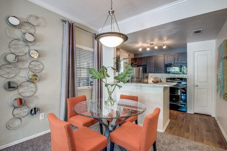 Dining Room at Hawthorne Riverside, New Braunfels, 78130
