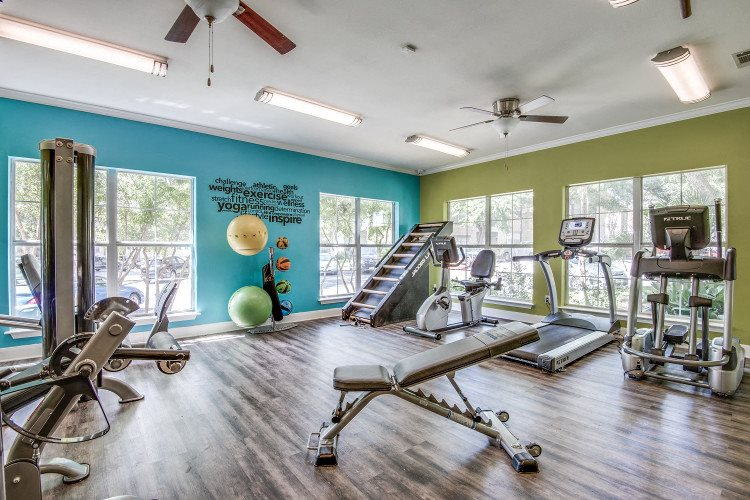 Fitness Center at Hawthorne Riverside, New Braunfels, TX 78130