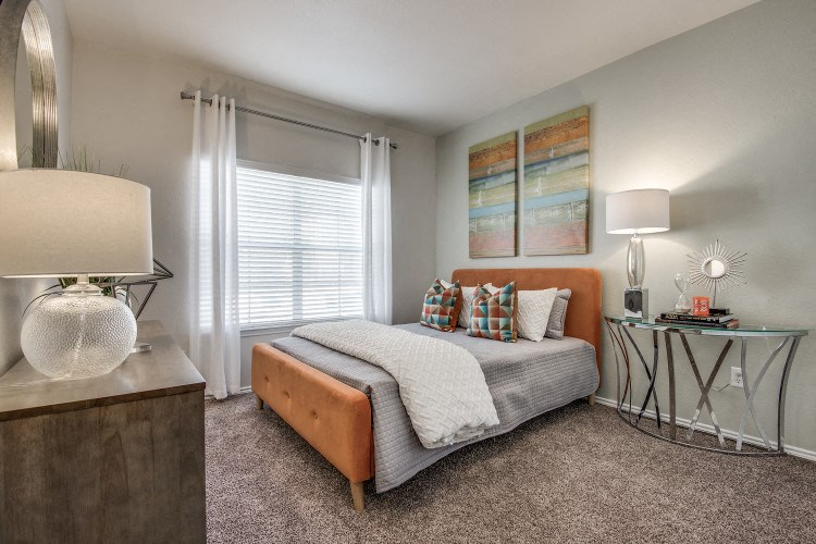 Bedroom at Hawthorne Riverside, New Braunfels, Texas
