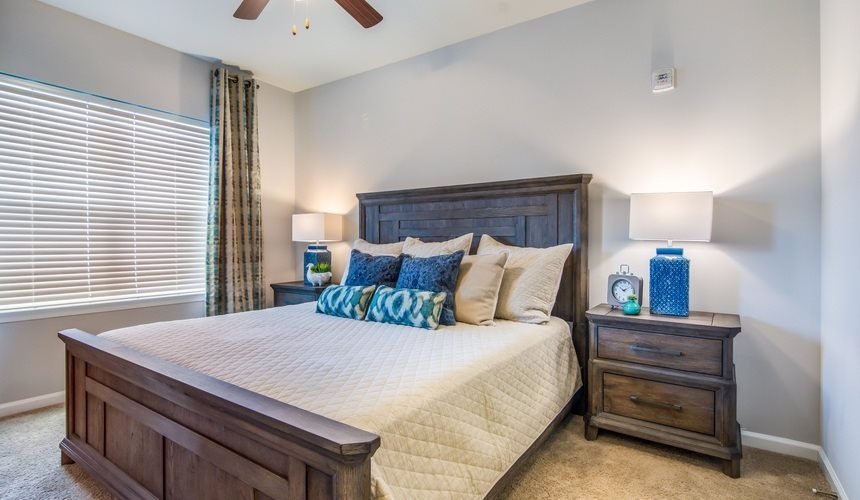 Model Bedroom at Plantation at Fayetteville in Fayetteville, NC