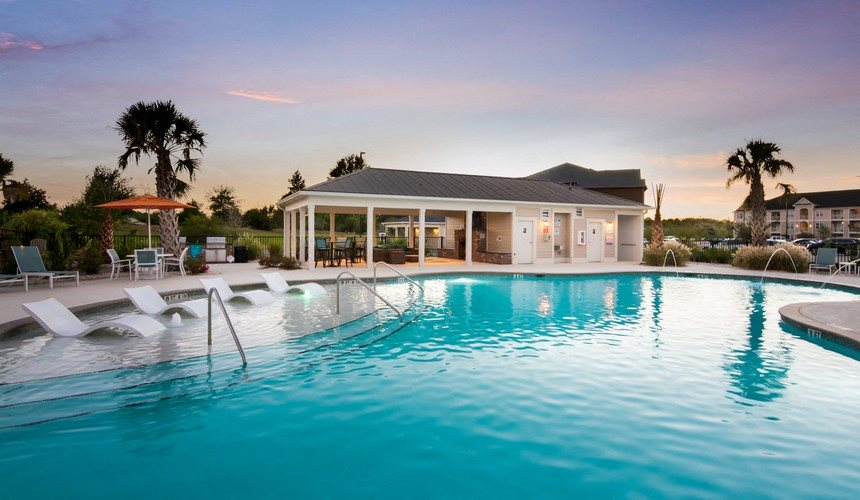 Sparkling Swimming Pool at Stephens Pointe, Wilmington, 28411