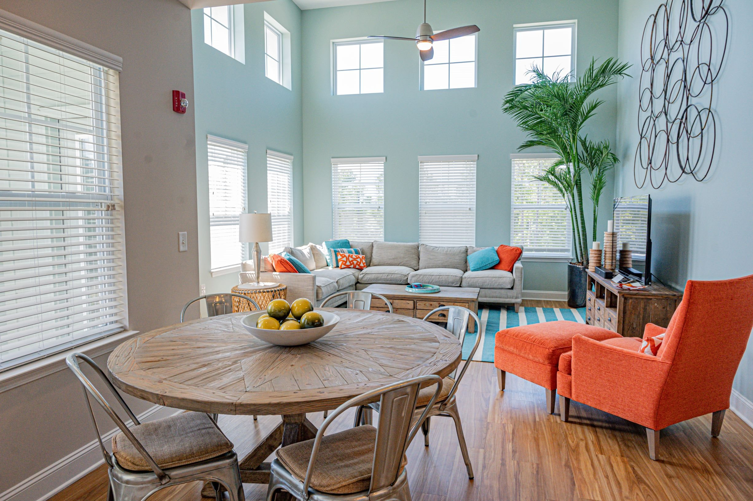 Dining Room Area at Hawthorne at the Station in Wilmington, NC