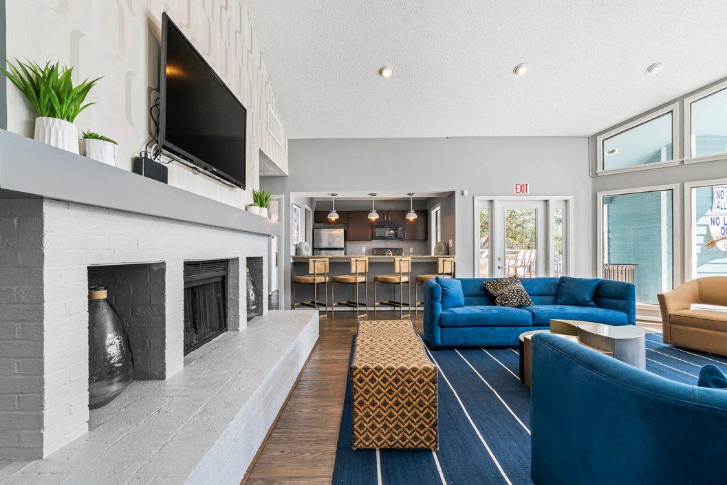 Resident Lounge at Hawthorne Westside
