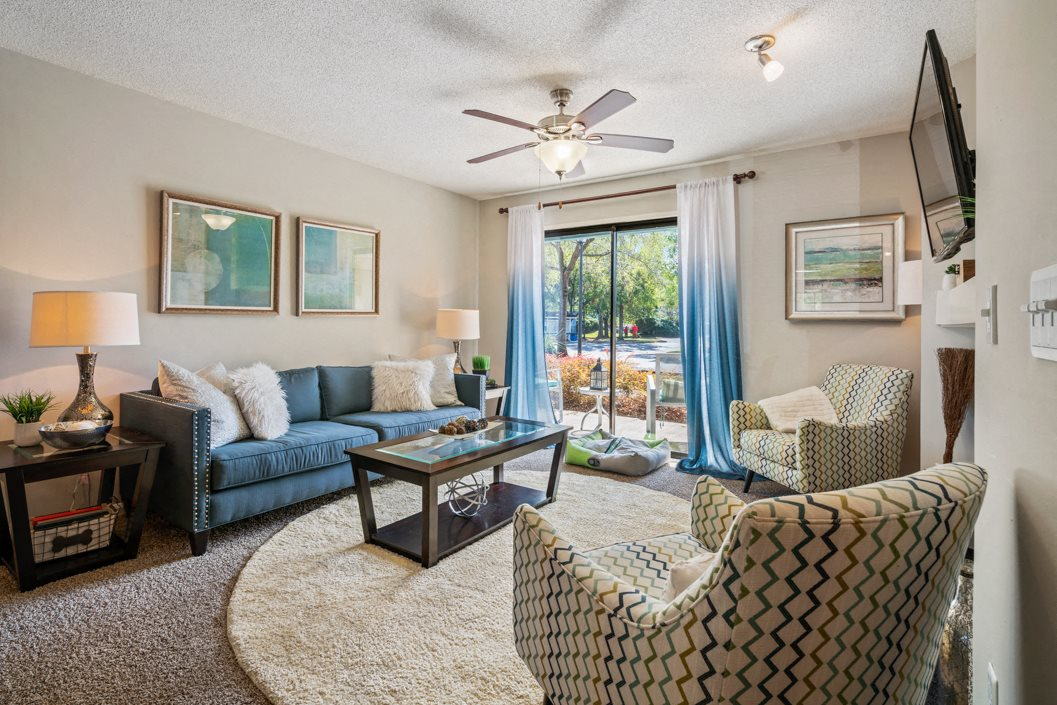 Hawthorne Westside Living Room