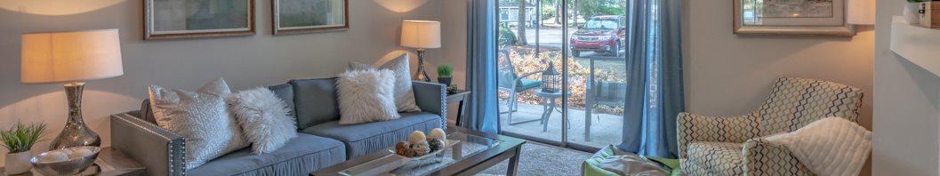 Living Room at Hawthorne Westside