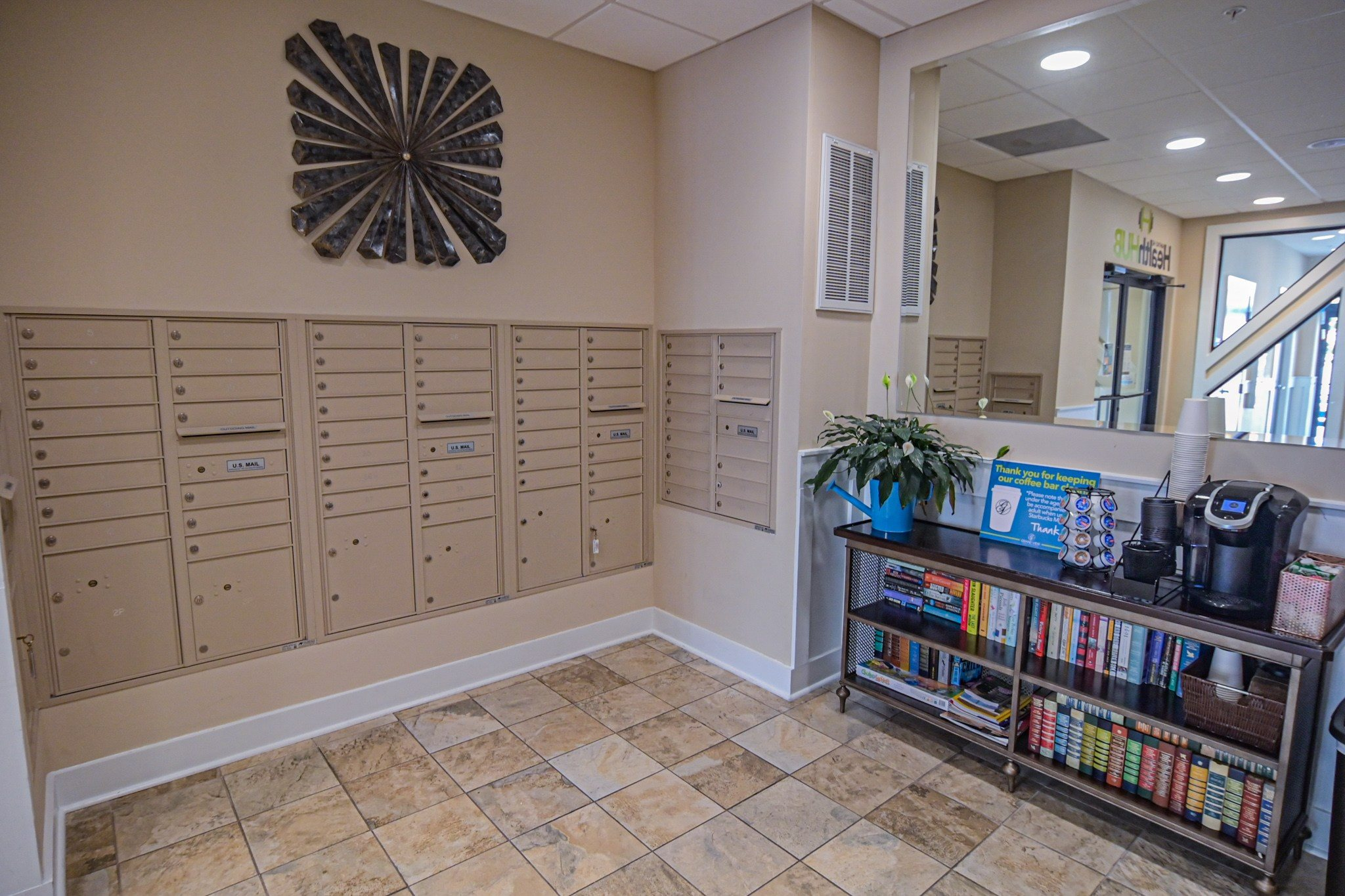Mailing Center at Grand View Luxury Apartments