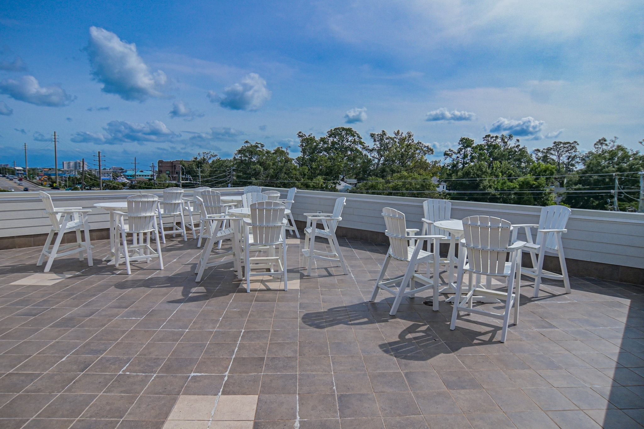 Sky Deck at Grand View Luxury Apartments in Wilmington, NC