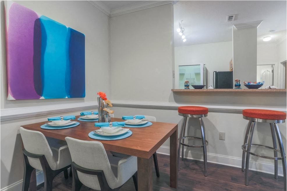 Dining room area at Hawthorne at the Meadows