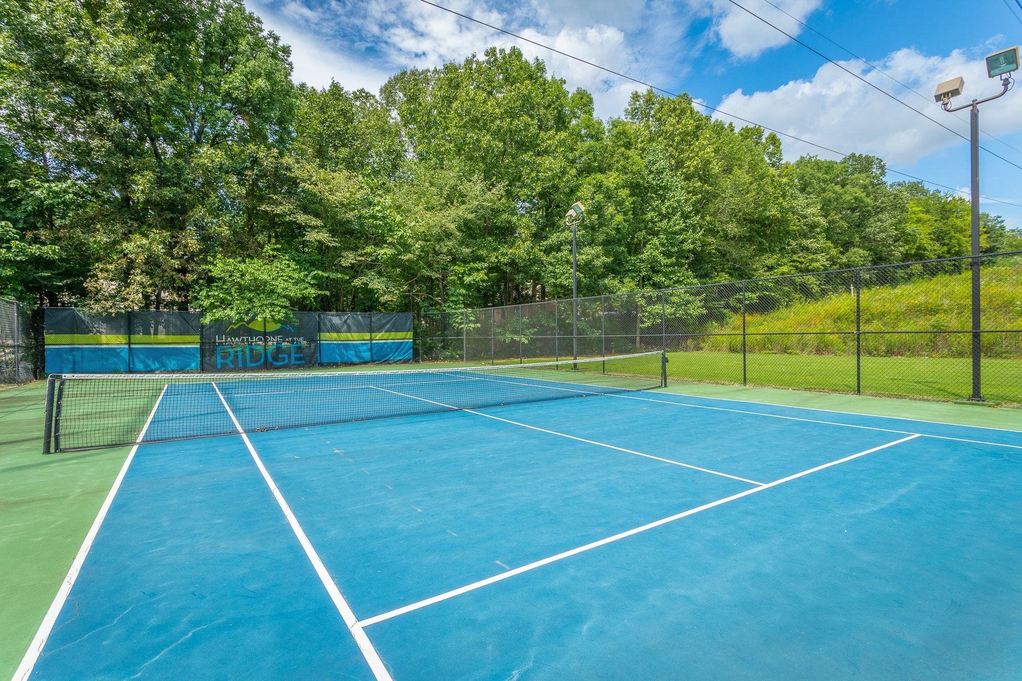 Tennis Court at Hawthorne at the Ridge in Madison, AL