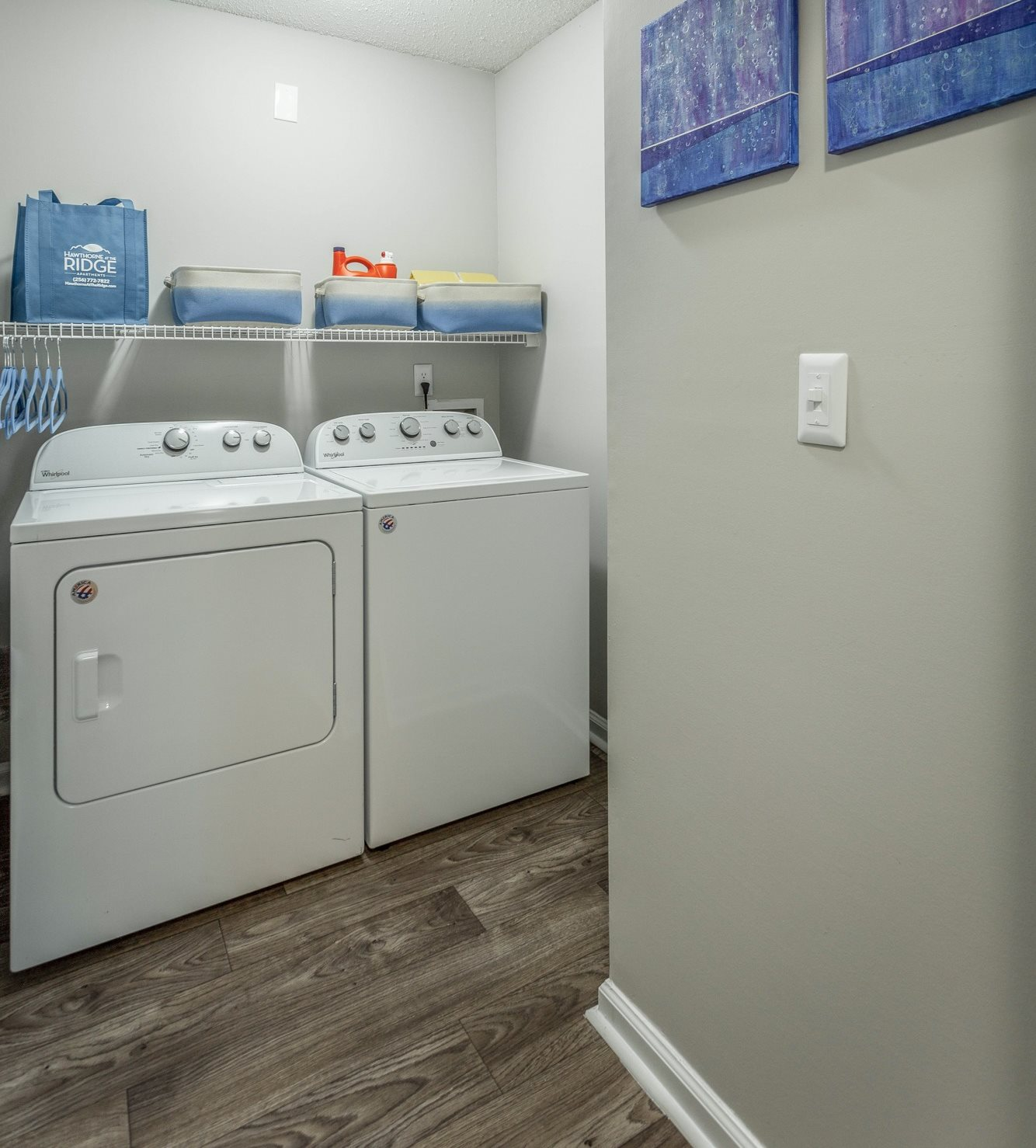 Laundry Room at Hawthorne at the Ridge in Madison, AL