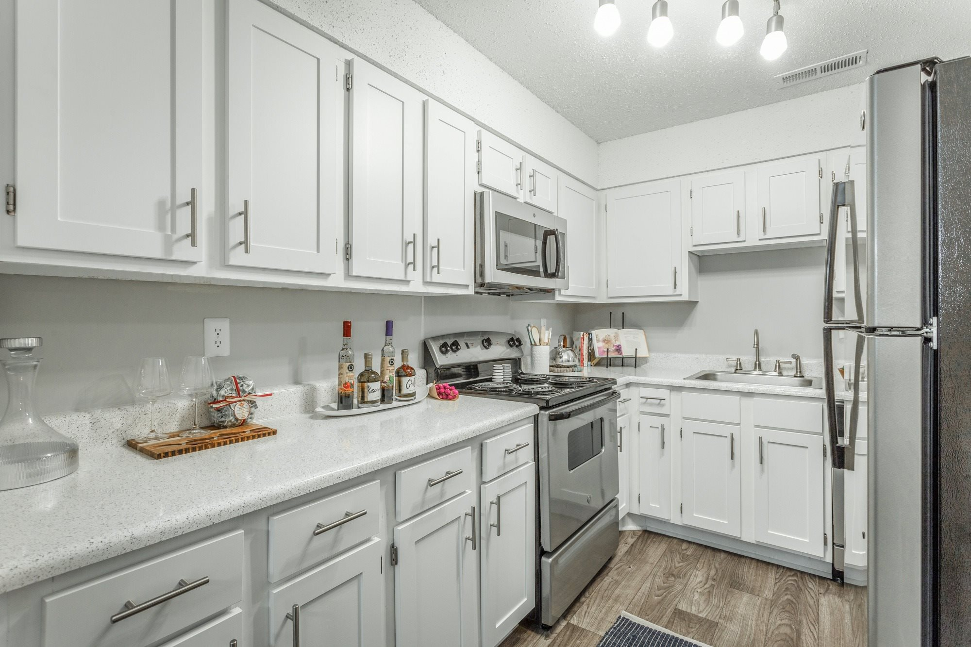 Model Kitchen at Hawthorne at the Ridge in Madison, AL