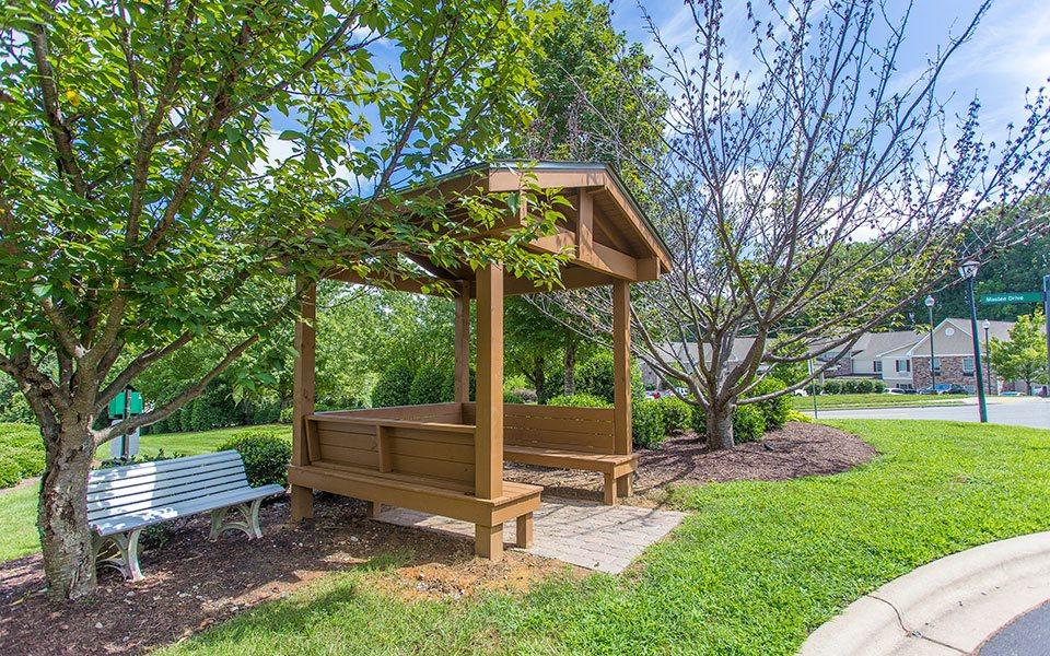 Community Garden at Hawthorne at Main, Kernersville, NC 27284