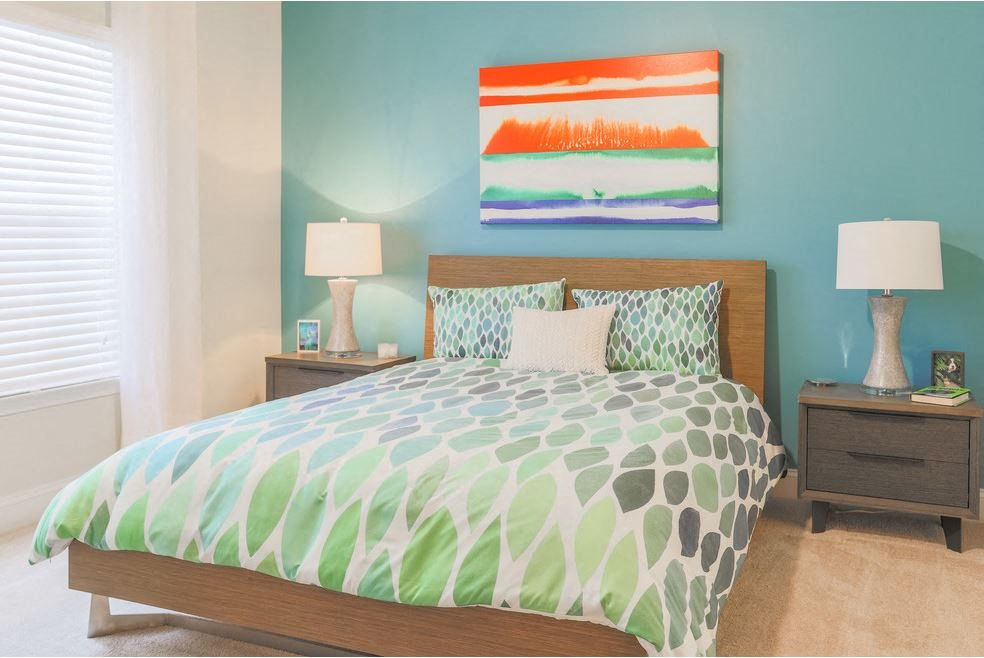 Spacious bedroom at Hawthorne at the Meadows
