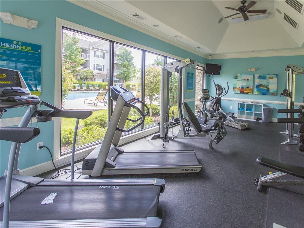 Fitness Center at Hawthorne at the Meadows, North Carolina