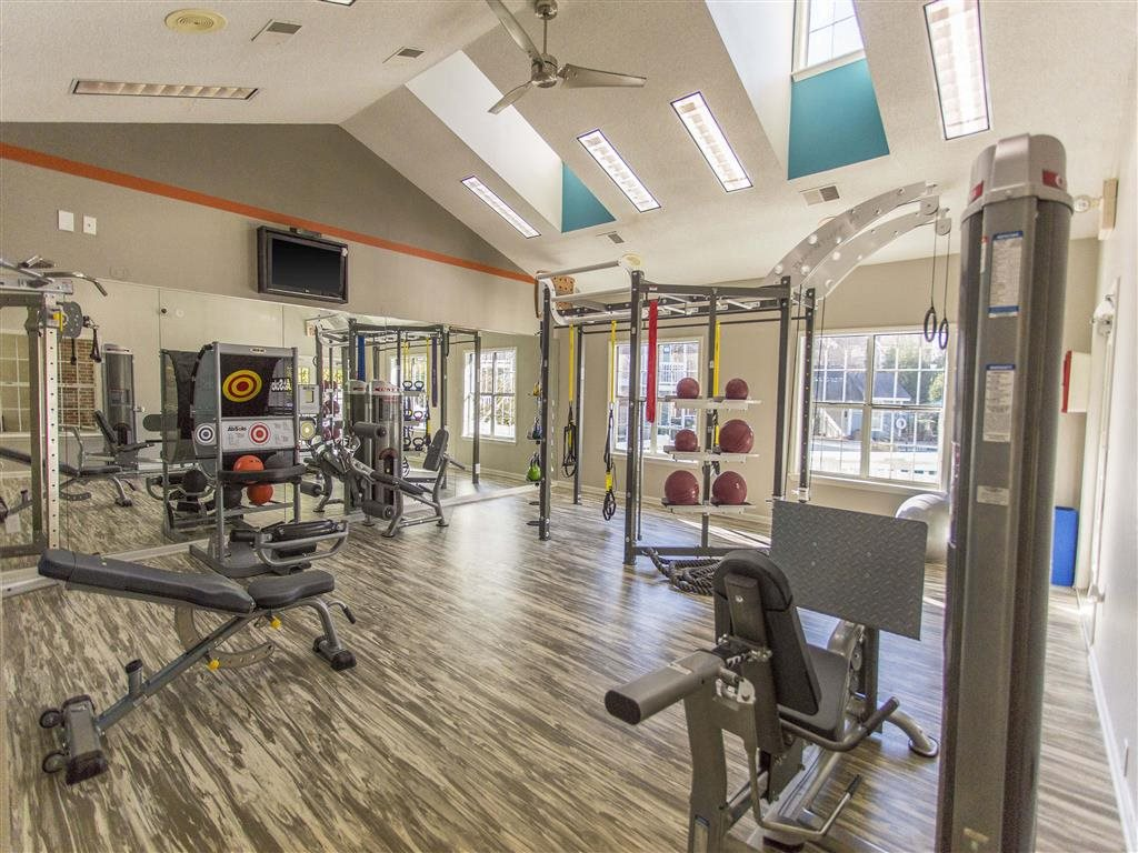 Fitness Center at Hawthorne at the Park, Greenville, 29607