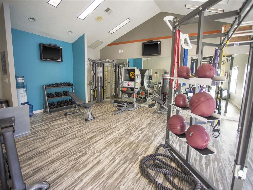 Fitness Center at Hawthorne at the Park, Greenville, South Carolina