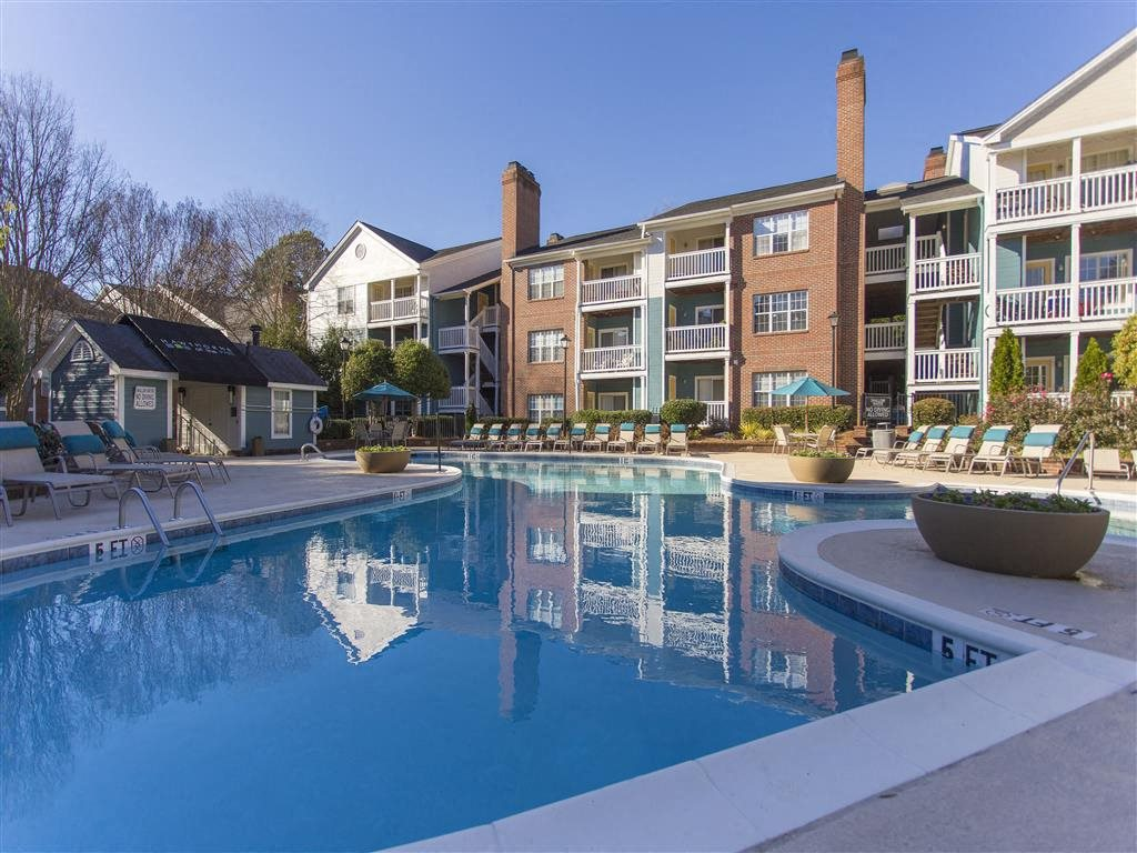 Pool at Hawthorne at the Park, Greenville, SC 29607