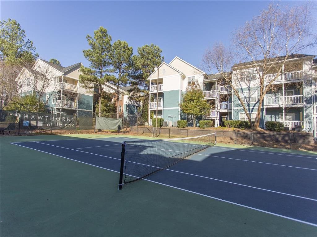 Tennis Court at Hawthorne at the Park, South Carolina, 29607