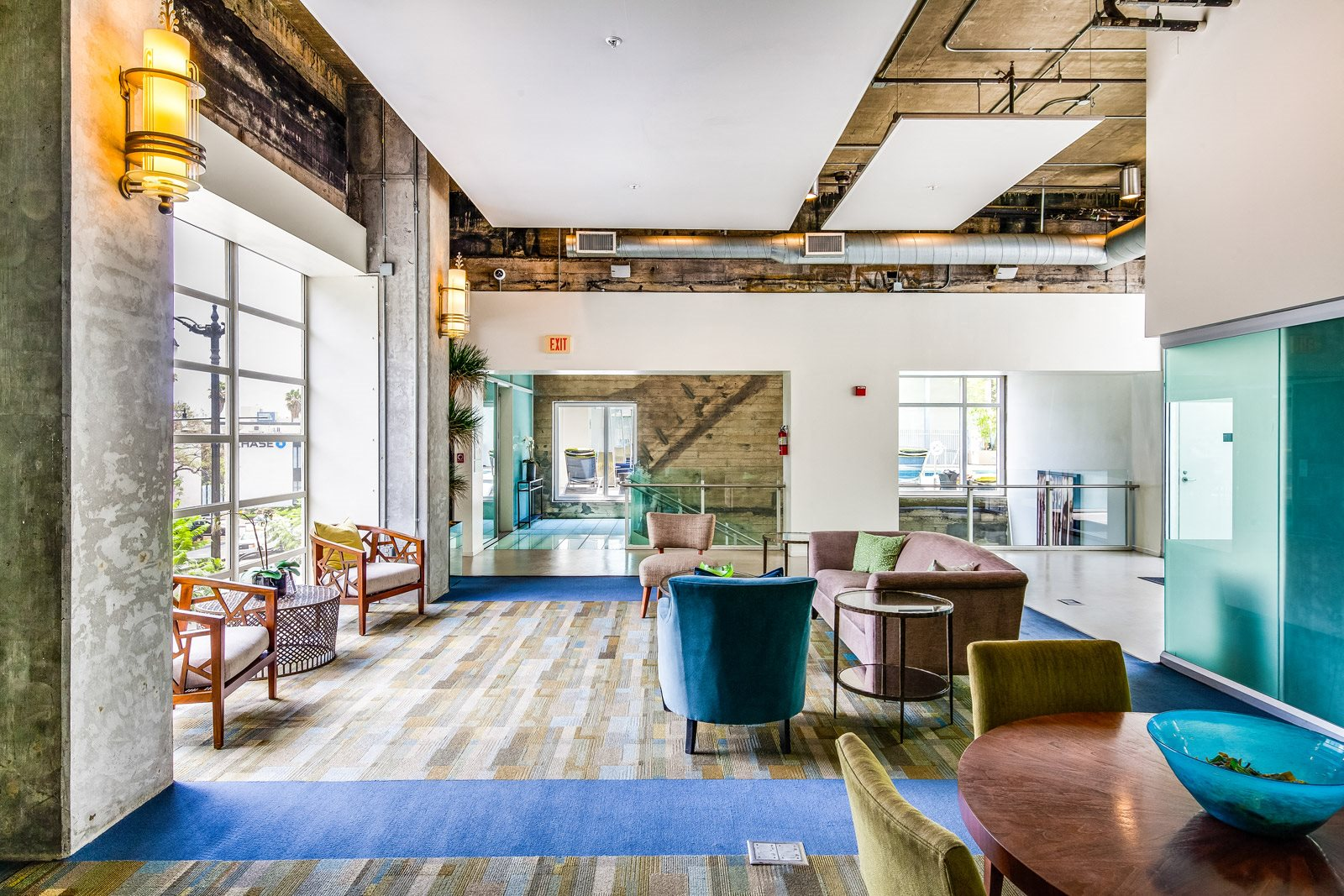 Five-Star Clubhouse with WiFi and Coffee Bar at Sunset and Vine, California, 90028
