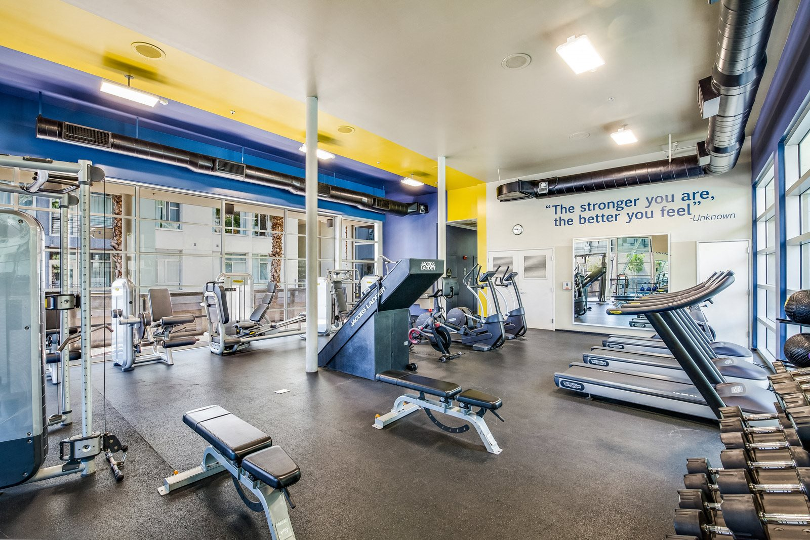 24-Hour, Fully-Equipped Fitness Center at Sunset and Vine, 1555 Vine Street, Los Angeles