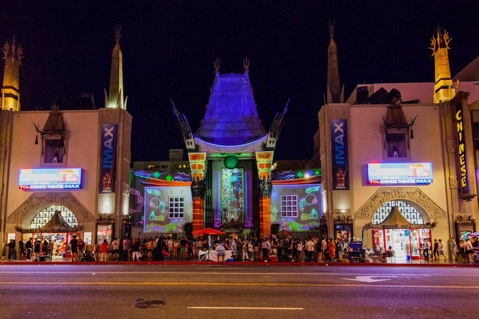 Iconic Setting near Hollywood Walk of Fame at Sunset and Vine, 1555 Vine Street, CA