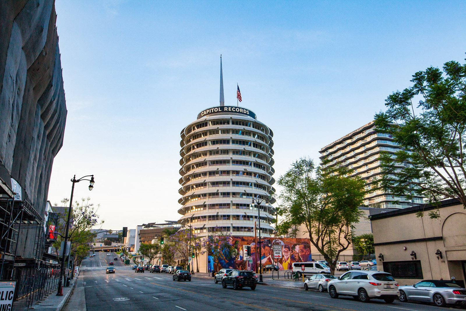 Near Capitol Records at Sunset and Vine, 90028, CA