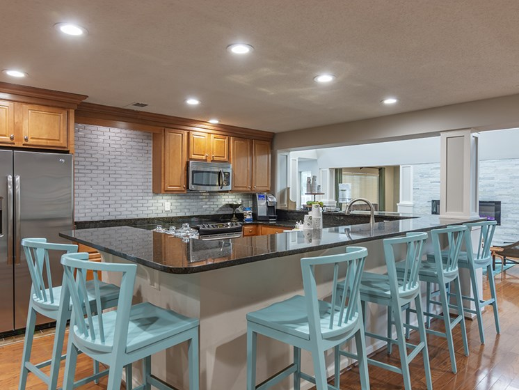 Copper Springs Clubroom Kitchen