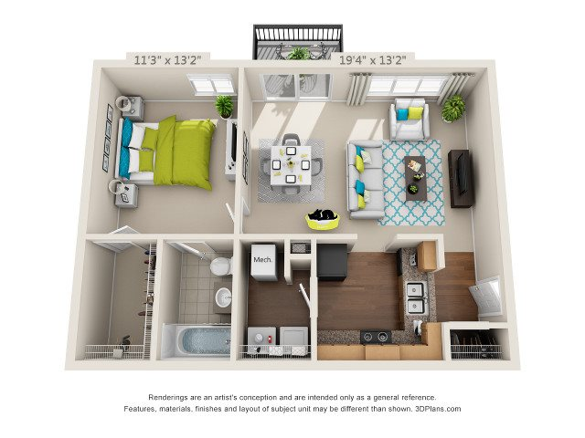 The Point Floor Plan 1