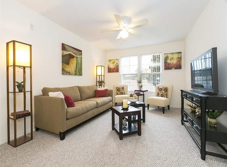 Beach Village Apartments for rent in Palm Coast, FL. Make this community your new home or visit other Concord Rents communities at ConcordRents.com. Living room