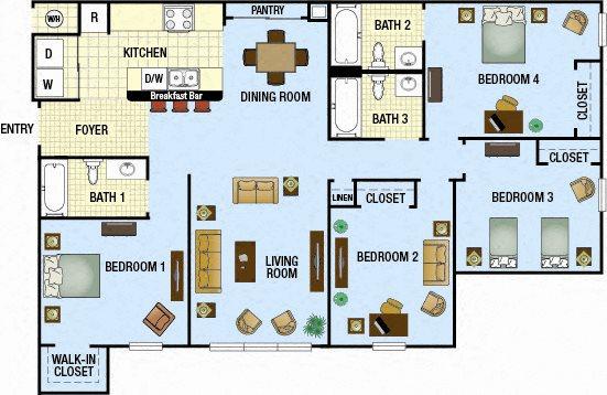 Delray Floor Plan 5