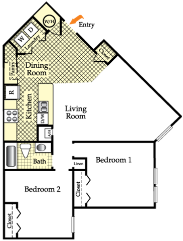 Banyon Floor Plan 1