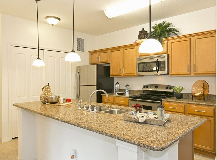 Hammock Harbor Apartments for rent in Rockledge, FL. Make this community your new home or visit other Concord Rents communities at ConcordRents.com. Kitchen