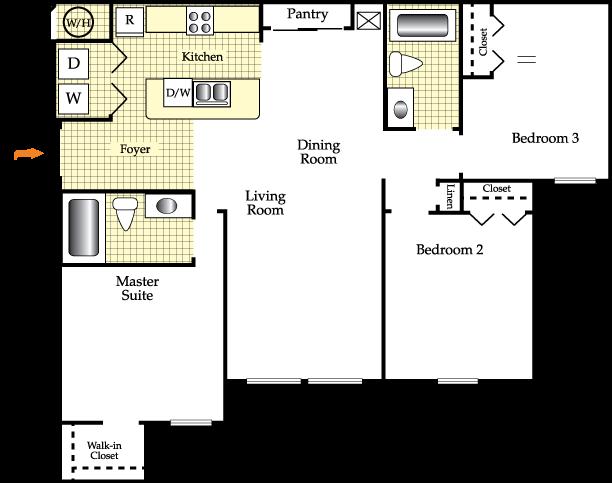 Charleston Floor Plan 3