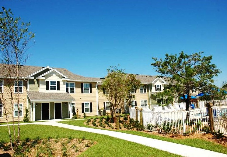 Nautilus Cove Condominiums for rent in Panama City Beach, FL. Make this community your new home or visit other Concord Rents communities at ConcordRents.com. Building exterior