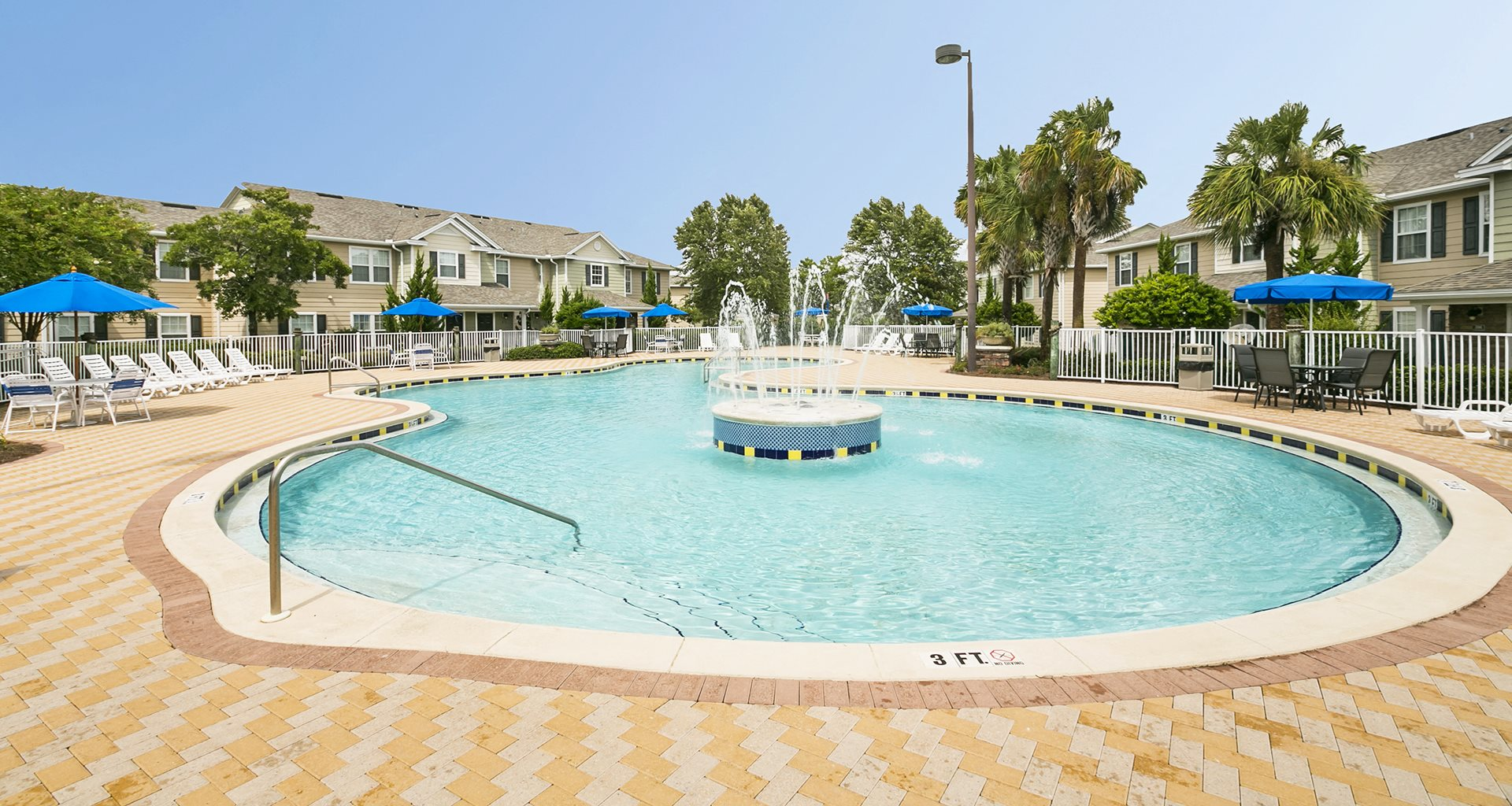 Nautilus Cove Condominiums for rent in Panama City Beach, FL. Make this community your new home or visit other Concord Rents communities at ConcordRents.com. Pool