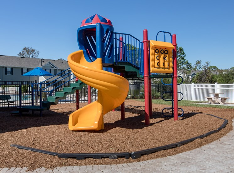 Sunrise Pointe Apartments for rent in Port Orange, FL. Make this community your new home or visit other Concord Rents communities at ConcordRents.com. Playground