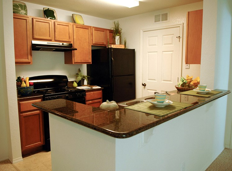 Cape Morris Cove Apartments for rent in Daytona Beach, FL. Make this community your new home or visit other Concord Rents communities at ConcordRents.com. Kitchen