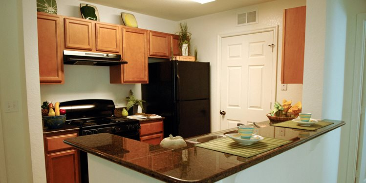 Fairview Cove Apartments for rent in Tampa, FL. Make this community your new home or visit other Concord Rents communities at ConcordRents.com. Kitchen