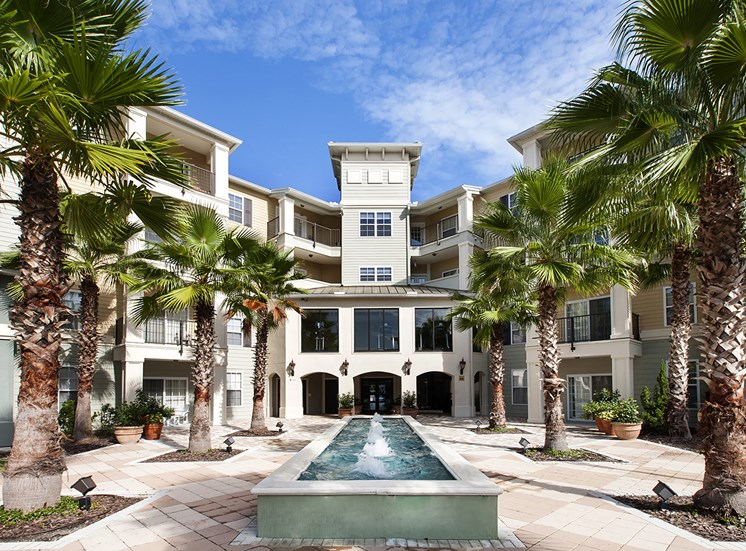 Fountains at Millenia Apartments for rent in Orlando, FL. Make this community your new home or visit other Concord Rents communities at ConcordRents.com. Courtyard