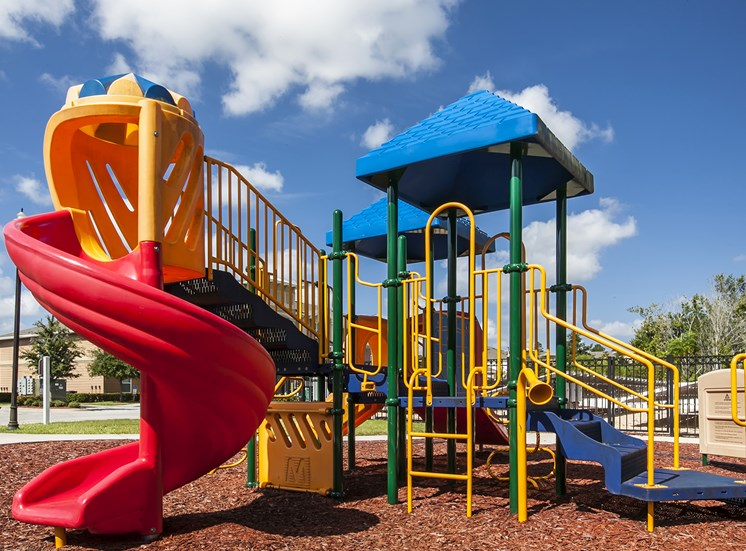 Children's playground at Oviedo Town Centre. For more communities, visit Concord Rents at ConcordRents.com