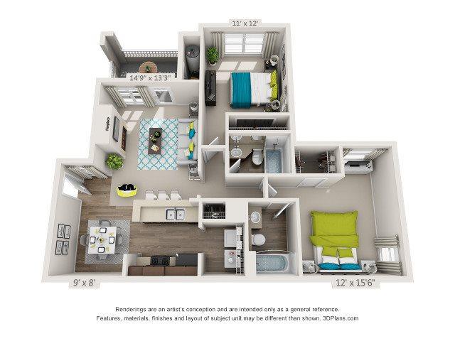 The Crabtree Floor Plan 3