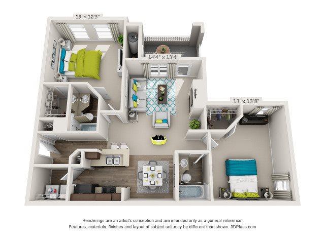 The Duke Floor Plan 4