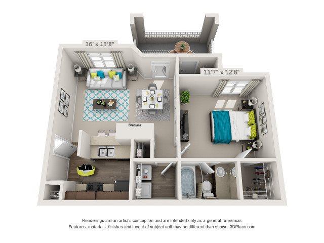 The Glenwood Floor Plan 1