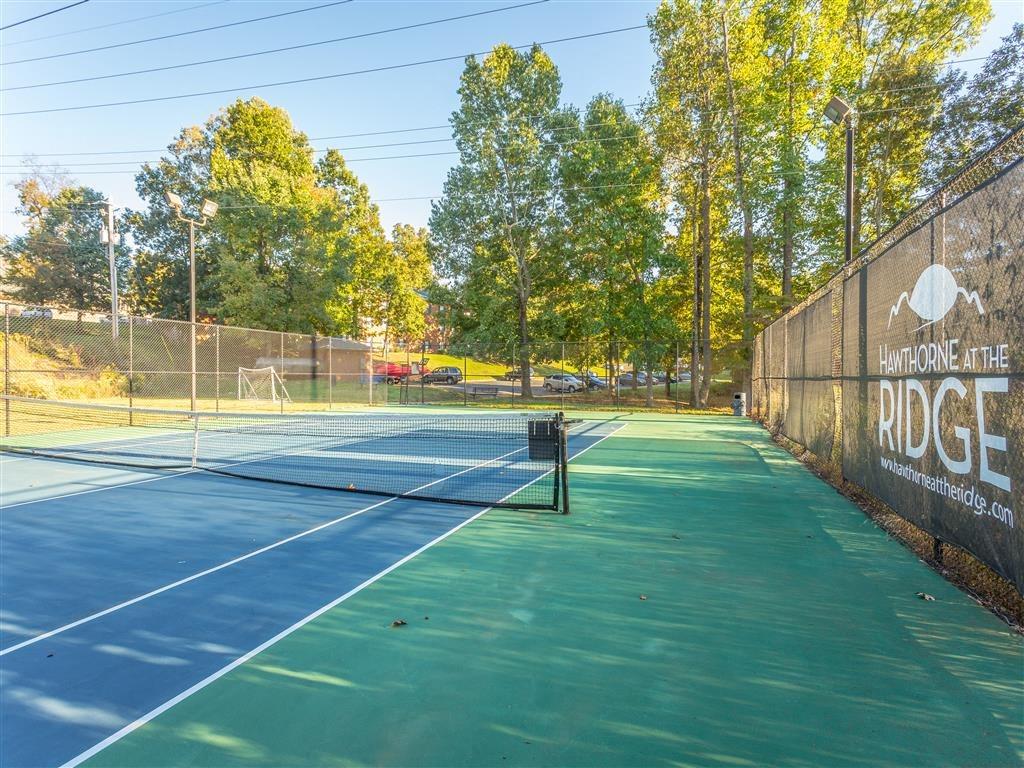Tennis Court at Hawthorne at the Ridge, Madison, AL