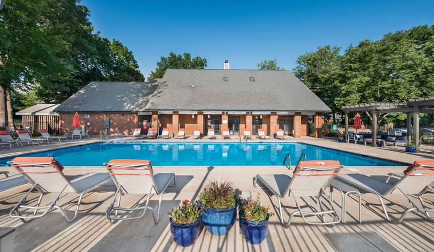 Resort Style, Sparkling Swimming Pool at Hawthorne at the Ridge, Madison, AL 35758